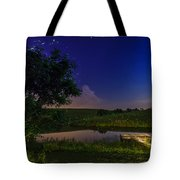Strangers In The Night Tote Bag