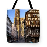 Strasbourg Cathedral Tote Bag