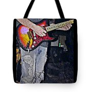 Strat Man  Tote Bag by Chris Berry