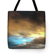 Stratus Clouds At Sunset Bring Serenity Tote Bag