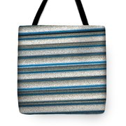 Straw Blue Tote Bag