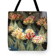 Straw Bouquets Tote Bag