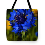 Straw Flower Tote Bag