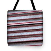 Straw Red Tote Bag