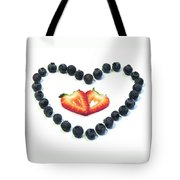 Strawberries Are Red Blueberries Are Blue Tote Bag