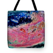 Strawberry Blueberry Universe Tote Bag