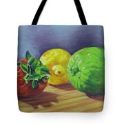 Strawberry Citrus Tote Bag