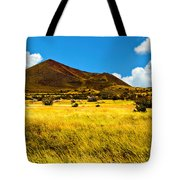 Strawberry Crater  Sunset Wupatki National Monument Tote Bag
