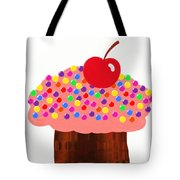 Strawberry Cupcake Tote Bag by Andee Design