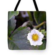 Strawberry Flower Tote Bag