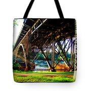 Strawberry Hill Bridge Tote Bag