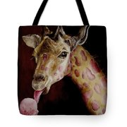 Strawberry Is My Favorite Tote Bag by Diane Kraudelt