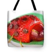 Strawberry Ladybug Tote Bag