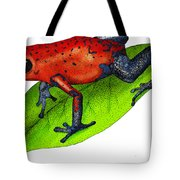 Strawberry Poison-dart Frog Tote Bag