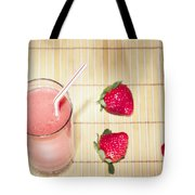 Strawberry Smoothie Tote Bag