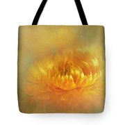 Strawflower IIi With Textures Tote Bag