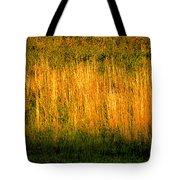 Straw Landscape Tote Bag