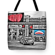 Strawn's Eat Shop Tote Bag