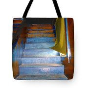 Stray Breeze On The Stairs Tote Bag