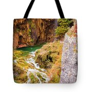 Stream In The Mountains Tote Bag