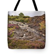 Stream Of Heather Tote Bag