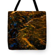 Stream Of Reflection Tote Bag