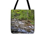 Stream Of Serenity Tote Bag