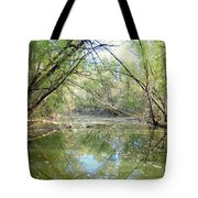 Stream Of Water Tote Bag