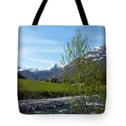 Stream To The Fjord Tote Bag
