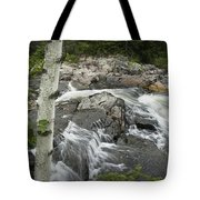 Stream With Waterfall In Vermont Tote Bag