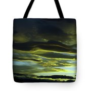 Streaming Clouds  Tote Bag