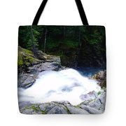 Streaming Down  Tote Bag