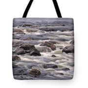 Streaming Rocks Tote Bag