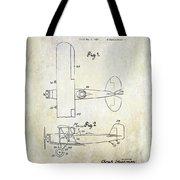 1929 Stearman Patent Drawing Tote Bag