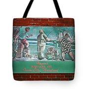 Street Ad Tote Bag by Skip Willits