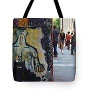 Street Art And Street Scene London Tote Bag