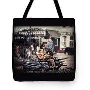 Street Beats Inspiration Tote Bag