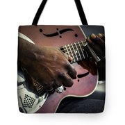 Street Blues Tote Bag