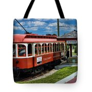 Street Cars Tr3613-13 Tote Bag