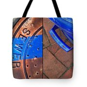 Street Cleaning Tote Bag