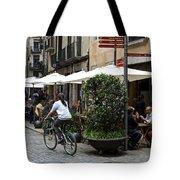 Street Corner Girona Spain Tote Bag
