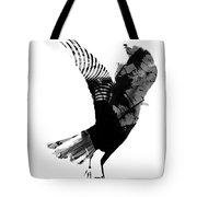 Street Crow Tote Bag
