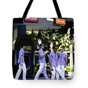 Street Entertainers In The Hollywood Section Tote Bag