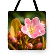 Street Flower Tote Bag