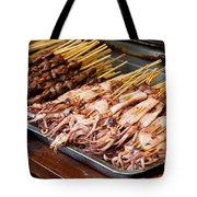 Street Food, China Tote Bag