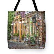Street In Ghent Tote Bag