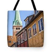Street In Helsingor Denmark Tote Bag