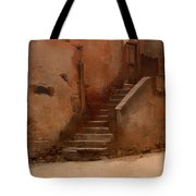 Street In Italy Tote Bag