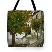street in old Albaycin in Granada Tote Bag