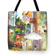 Street In Saint Martin Tote Bag